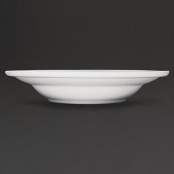 Athena Hotelware Rimmed Soup / Pasta Bowls 228mm