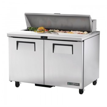 True Salad Prep Counter 2 Door 340Ltr TSSU-48-12-HC