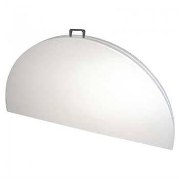 Bolero Round Centre Folding Table 5ft White