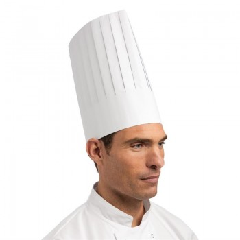 Disposable Chefs Hat White