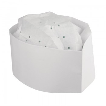 Disposable Forage Hat White