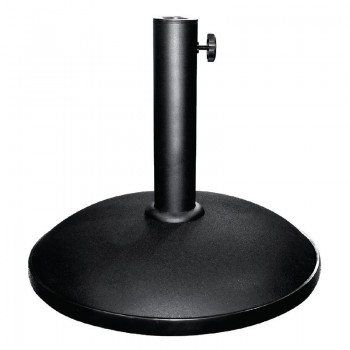 Bolero Outdoor Umbrella Concrete Base Black