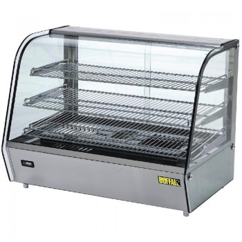 Buffalo Countertop Heated Food Display 868mm