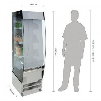 Polar Multideck Display Fridge 494mm