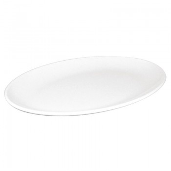 Kristallon Melamine Oval Coupe Plates 305mm