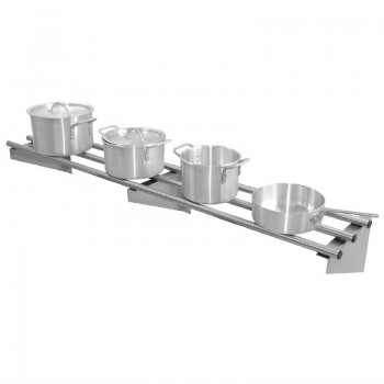 Vogue Stainless Steel Wall Shelf 1500mm