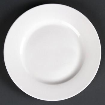 Lumina Wide Rim Round Plates 175mm