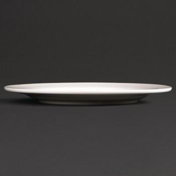 Lumina Wide Rim Round Plates 200mm