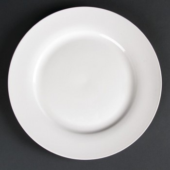 Lumina Wide Rim Round Plates 270mm