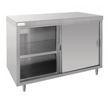 Vogue Stainless Steel Floor Standing Cupboard 1200mm