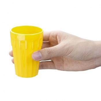Kristallon Polycarbonate Tumblers Yellow 142ml