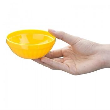 Kristallon Polycarbonate Bowls Yellow 102mm