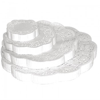 Fiesta Round Paper Doilies 165mm