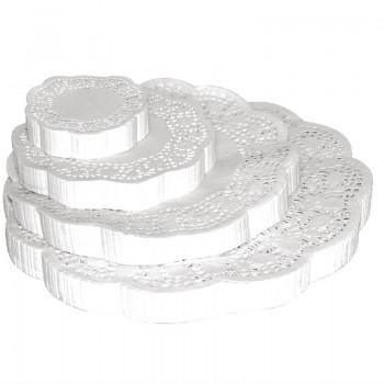 Fiesta Round Paper Doilies 240mm