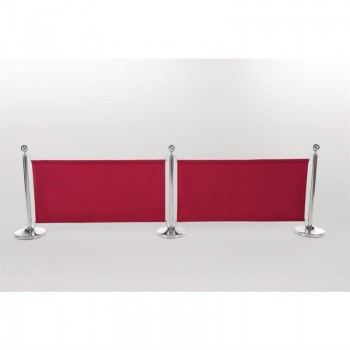Bolero Red Canvas Barrier