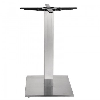Bolero Stainless Steel Square Table Base