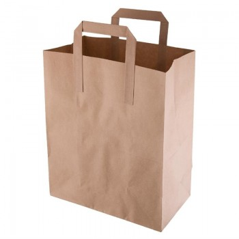Fiesta Green Recycled Brown Paper Carrier Bags Medium