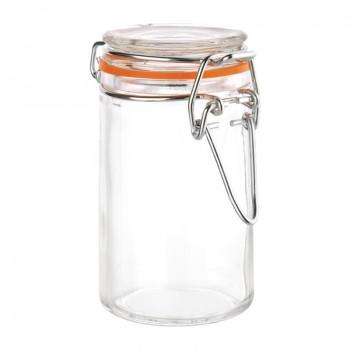 Vogue Mini Glass Terrine Jar 70ml (Pack of 12)
