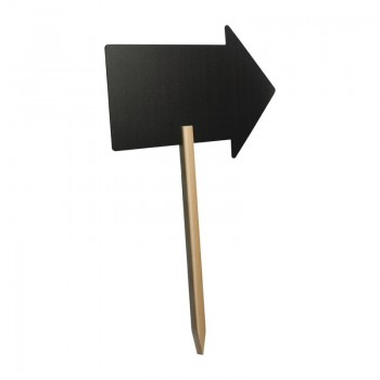 Securit Arrow Blackboard with Chalk Marker 670 x 500mm