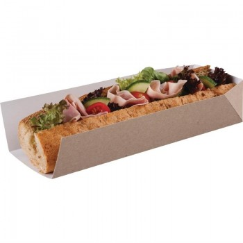 Colpac Compostable Disposable Open Ended Takeaway Trays 250mm