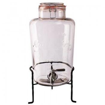 Olympia Nantucket Style Drink Dispenser with Wire Stand