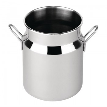 Olympia Stainless Steel Mini Milk Churn Large 400ml