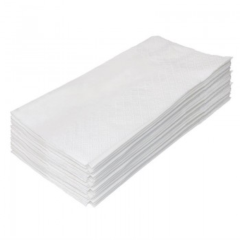 Fiesta Dinner Napkin White 400mm pack of 250