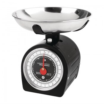 Weighstation Black Dial Scales 5kg