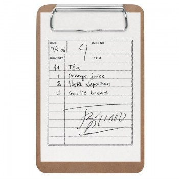 Olympia Bill Presenter Mini Clipboard