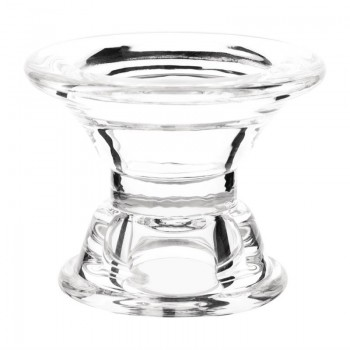 Olympia Glass Tapered Candle Holder
