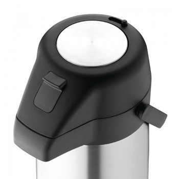 Olympia Stainless Steel Topped Pump Action Airpot 1.9Ltr