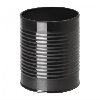 Olympia Galvanised Steel Chip Cup Black