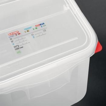 Araven Transparent Ingredient Bin 50Ltr