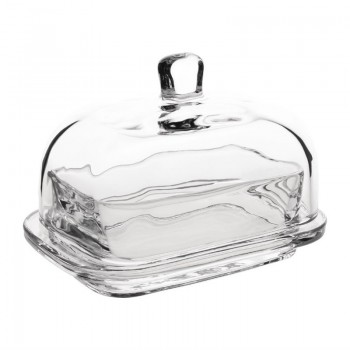 Olympia Butter Dish Glass 335ml