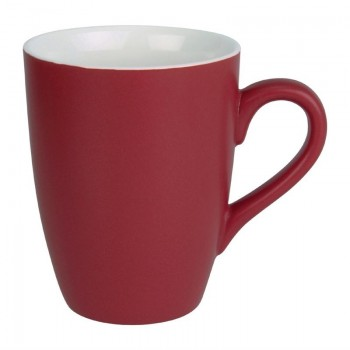 Olympia Matt Pastel Mug Red 340ml