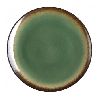 Olympia Nomi Round Coupe Plate Green 198mm