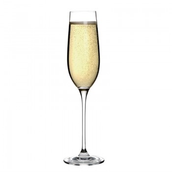 Olympia Campana One Piece Crystal Champagne Flute 260ml
