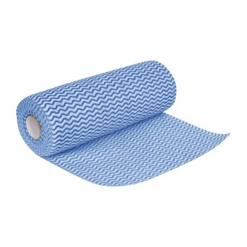 Jantex Non Woven Cloths Blue (Roll of 100)