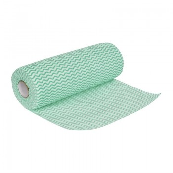 Jantex Non Woven Cloths Green (Roll of 100)