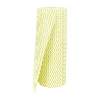 Jantex Non Woven Cloths Yellow (Roll of 100)
