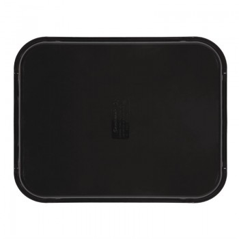 Cambro Camtread Fibreglass Rectangular Non-Slip Tray Black 457mm
