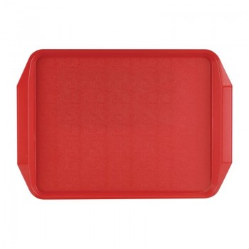 Roltex Handled Tray Red 435 x 305mm