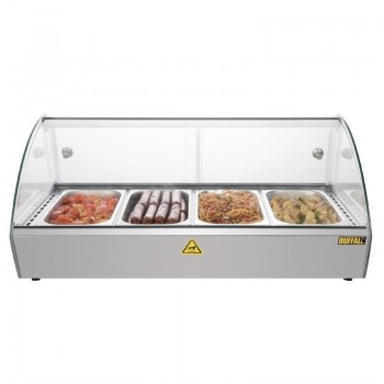 Buffalo Countertop Heated Food Display 800mm