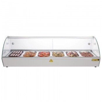 Buffalo Countertop Heated Food Display 1200mm