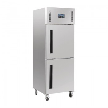 Polar Upright Stable Door Gastro Freezer 600Ltr
