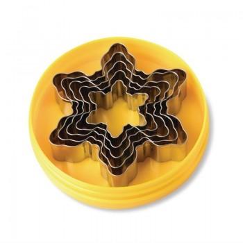 Schneider Set of 5 Snowflake Cutters