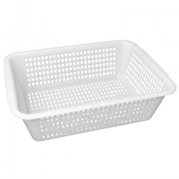 Vogue Square Colander White 357mm