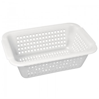 Vogue Square Colander White 395mm
