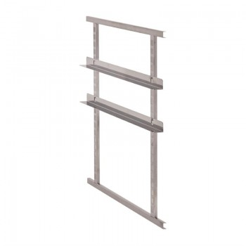 Cambro Kit of 2 Stainless Steel Rails for Cam GoBoxes