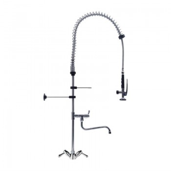 Gastro-M High Model Monobloc Pre-Rinse Spray With Separate Swing Tap